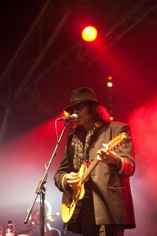 Rodriguez playing Greenman festival 2009, Glanusk Park, Crickhowell, Wales