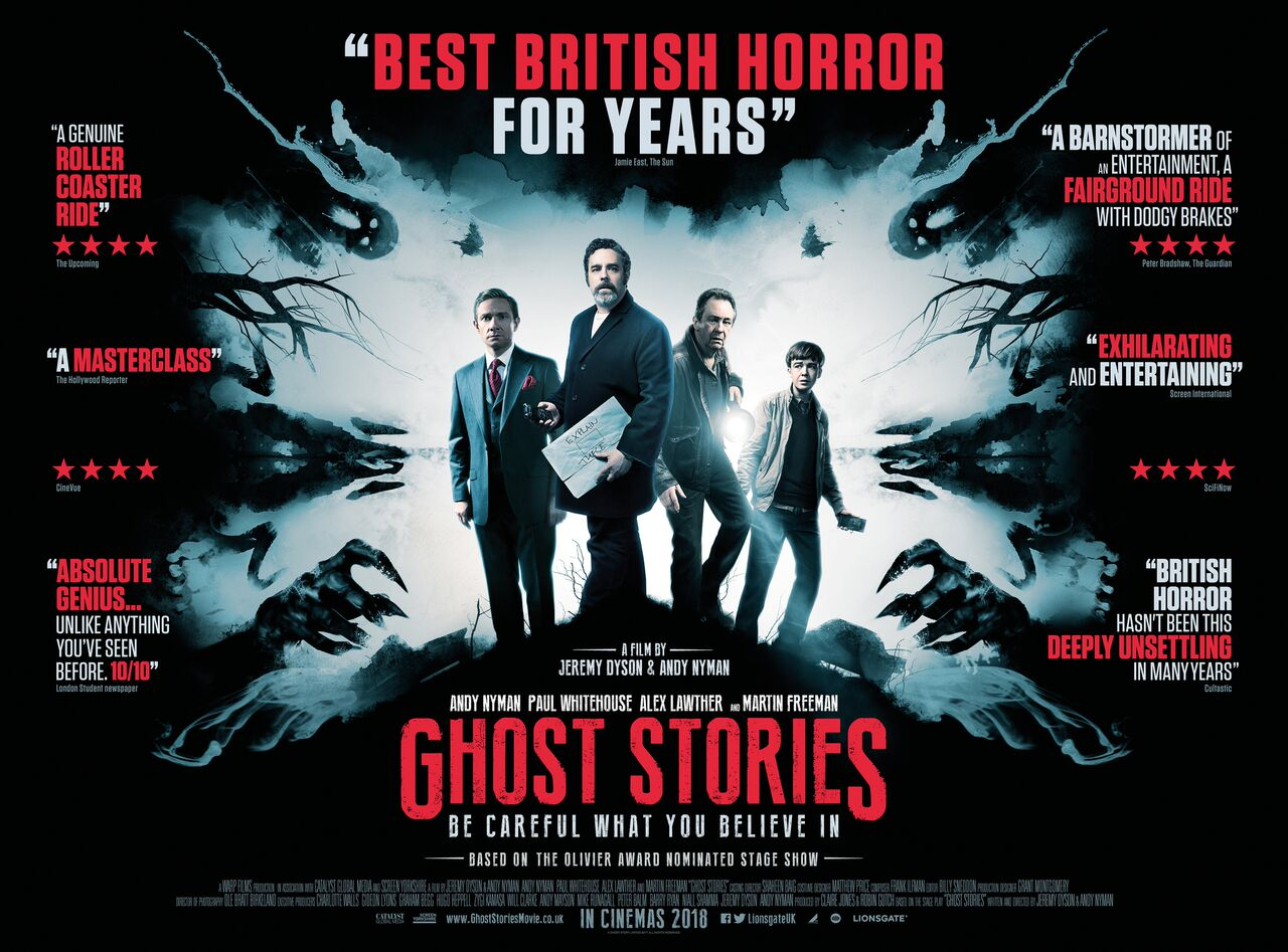GHOST STORIES Is An Adaptation Of The Smash Hit Play That Has Chilled Over Half A Million Theatregoers Around World Film Stars Martin Freeman